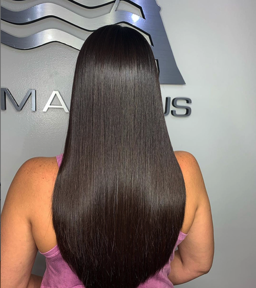 We have the answer for unmanageable hair at hair Salon Armandeus Weston